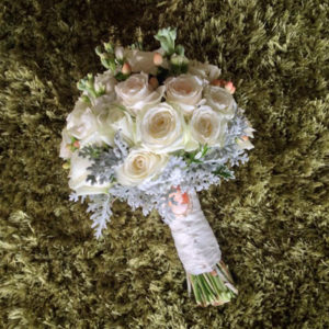 Bespoke designed wedding bouquet from A Floral Affair