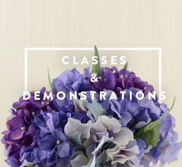 Floral Design and Art Classes & Demonstrations by Francine Thomas from A Floral Affair