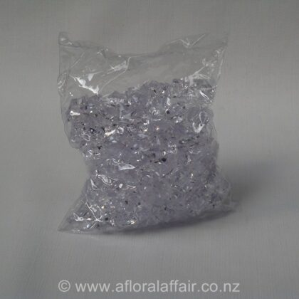 Coloured Crystals 200pc Clear
