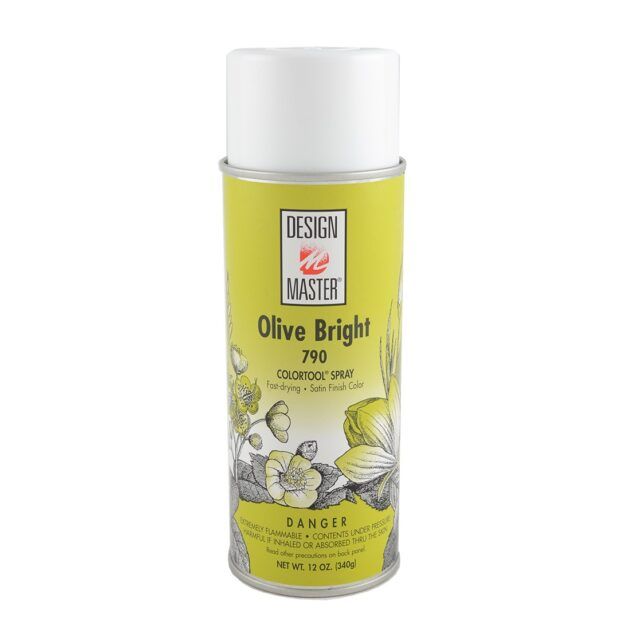 Design Master Spray 312gm Olive Bright