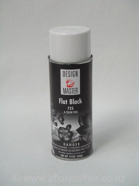 Design Master Spray 250ml Flat Black