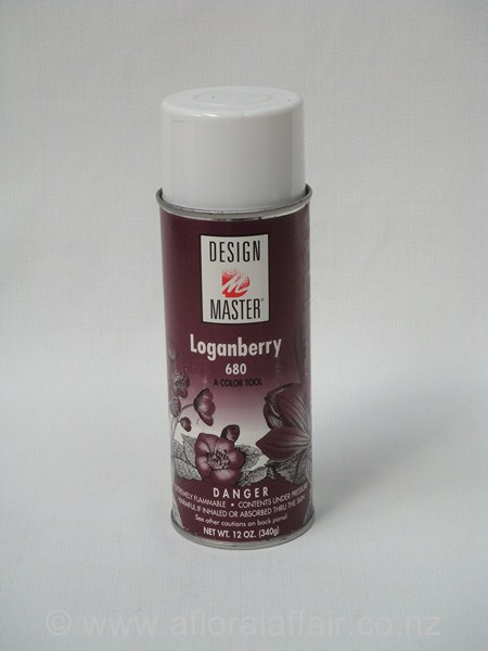 Design Master Spray Loganberry