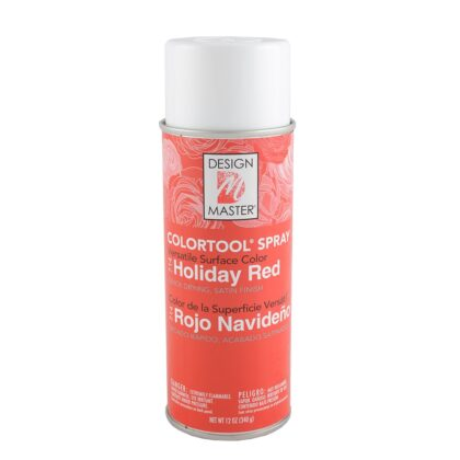Design Master Spray Holiday Red
