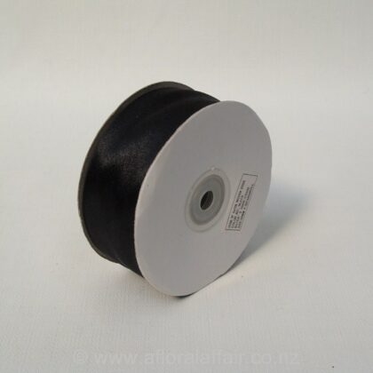 Nylon Stain - Wire Edge - 50mmx10m - Black