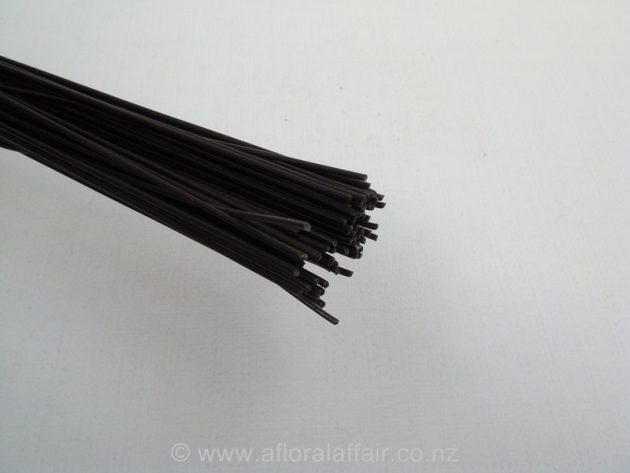 Black Steel Wire 1.6mm  x .80cm 5kg pkt