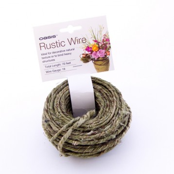 Wire Rustic Grapevine Wire 20m approx Moss