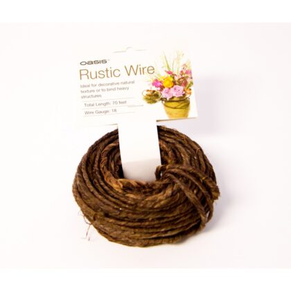 Wire Rustic Grapevine Wire 20m approx Chocolate