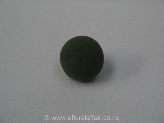Floral Foam Sphere 7cm Wet