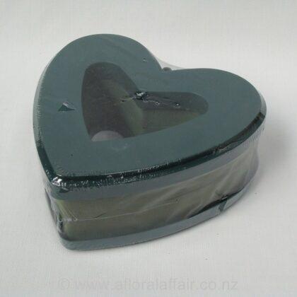 Floral Foam Aspac Open Heart 24cm x2 per pack