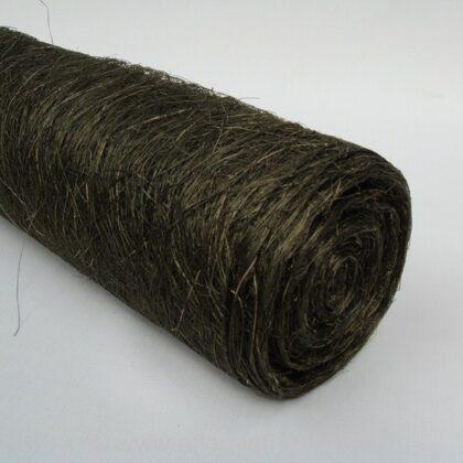"""Abaca Scrunch Mat Roll 18""""x10yd Moss"""