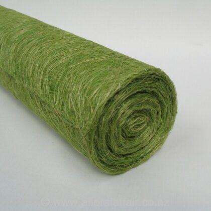 """Abaca Scrunch Mat Roll 18""""x10yd Olive"""