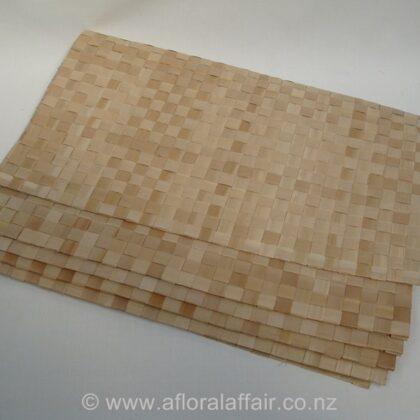 Flax Mat 50x70cm Pk/5 Natural