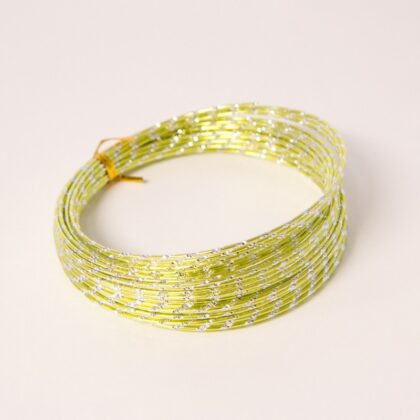 Diamond Sensation wire Apple Green 2mm x 10m