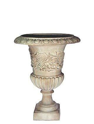 Urn Silver Pewter Large