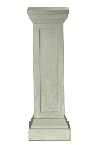Plinth  For Urn Silver Pewter 1.m