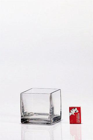 Glass Cubes Vases 10cmx10cm