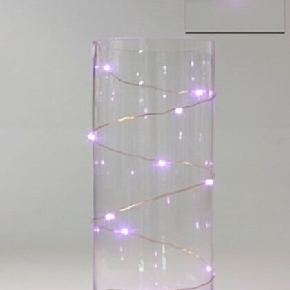 LED Seed Light 1m Pink