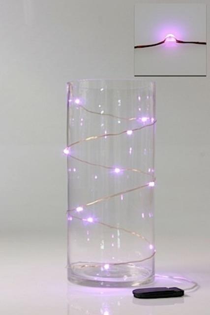 LED Seed Light 1m Pink