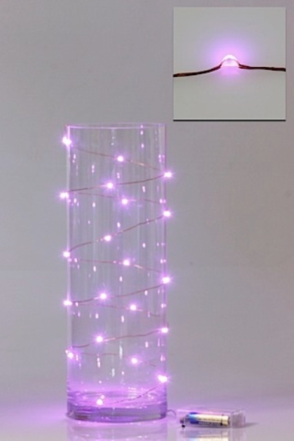 LED Seed Light 2m Pink