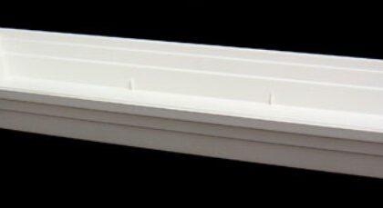 Heavy duty designer tray 59lx14w White