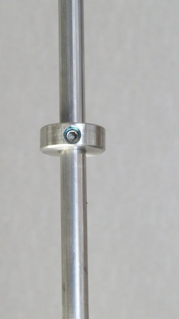 Small fitting for 10ml rod stainless steel