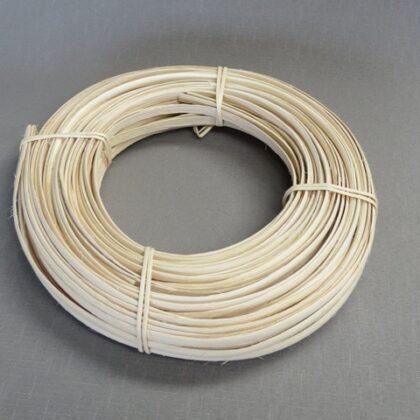 16mm Flat oval peeld cane 500gram hank