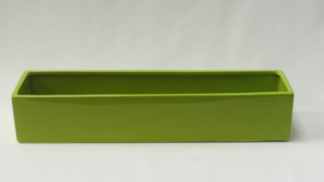 Ceramic Trough  Green