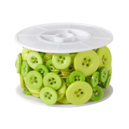 Button Wire Apple Green