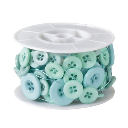 Button Wire Aqua