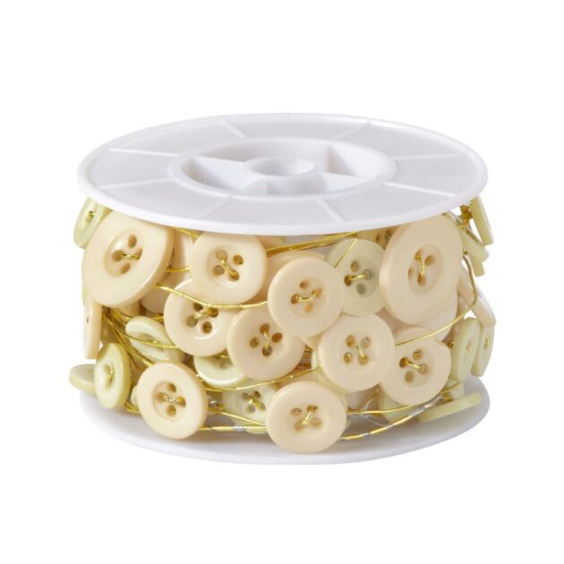 Button Wire Ivory