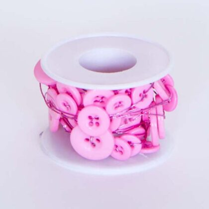 Button Wire Pale Pink