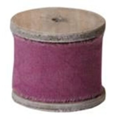 Raw Muslin Cranberry/Purple