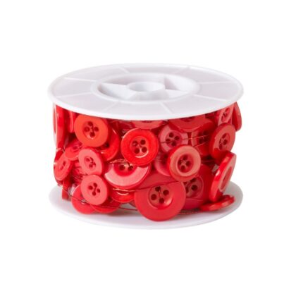 Button wire red